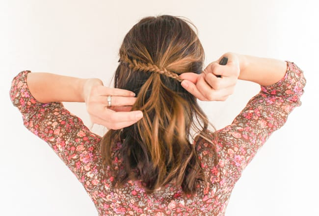 Twisted Braid | 3 Half-Up Hair Styles