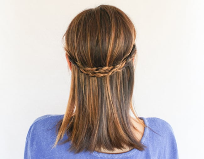 Braided Crown | 3 Half-Up Hair Styles