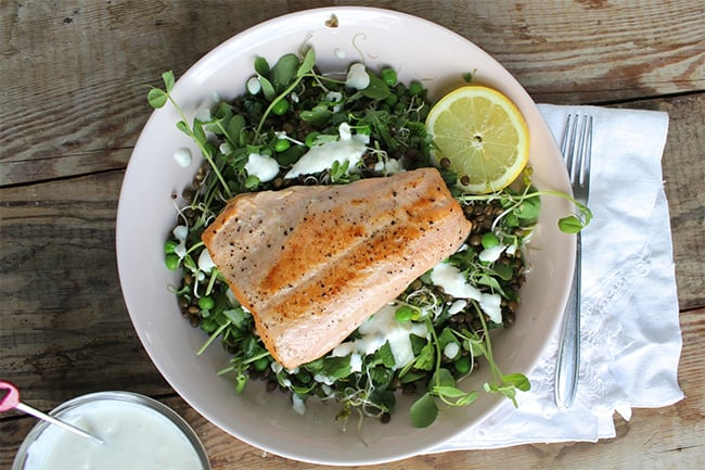 Salmon with Horseradish by Chase the Flavors | 25 Healthy Salmon Recipes
