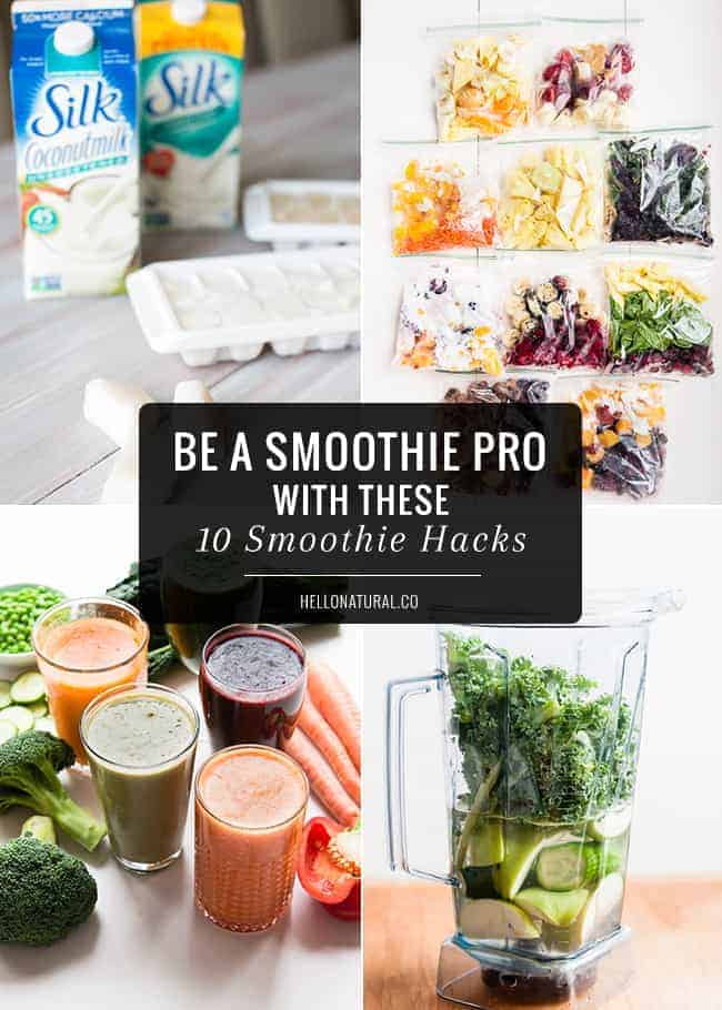 10 Smoothie Hacks