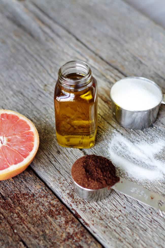 Grapefruit Coffee Cellulite Body Scrub