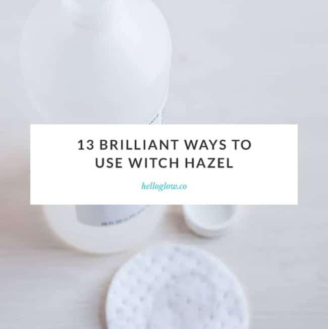 witch hazel uses