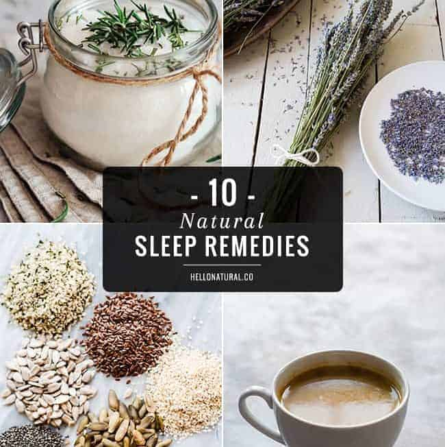 10 Natural Sleep Remedies