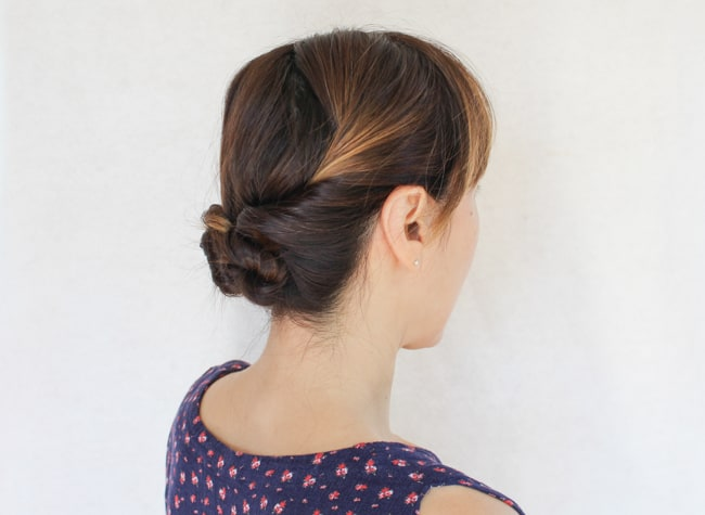 Twisted Updo | 3 Hairstyles for Dirty Hair