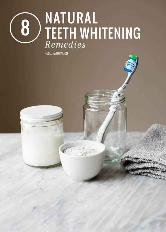 8 Natural Teeth Whitening Remedies