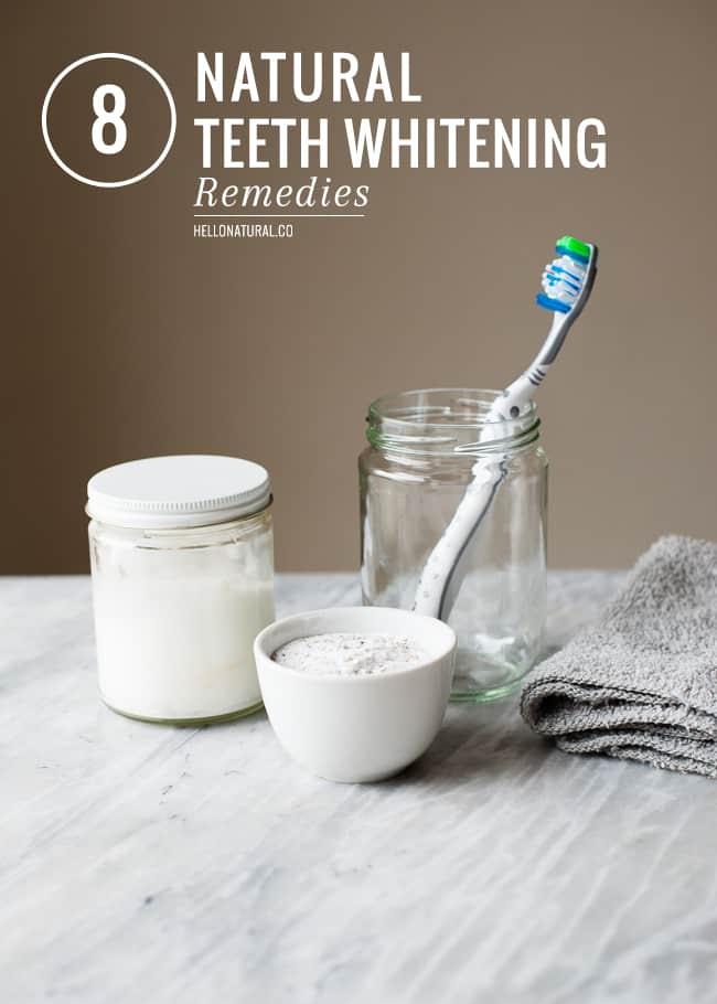 8 Natural Teeth Whitening Remedies
