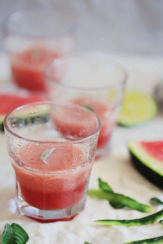 Cucumber Watermelon Slush