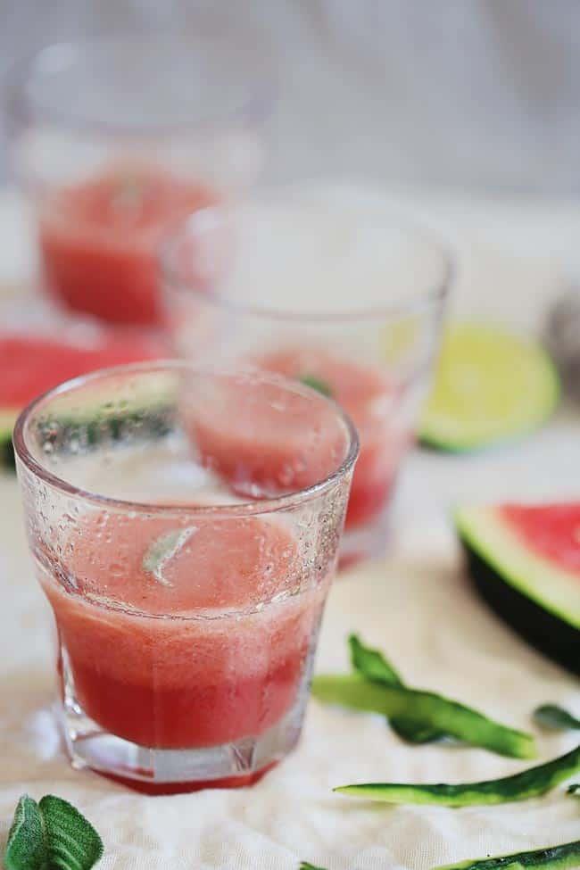 Cucumber Watermelon Slush