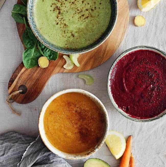 Summer Raw Detox Soups