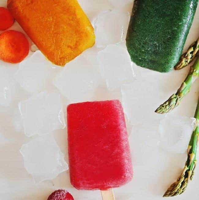 3 Gorgeous Veggie Popsicles (Yes, Veggie) to Beat the Heat