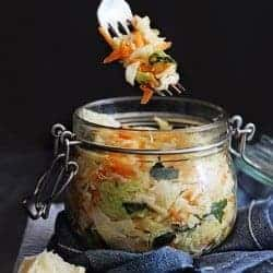 How To Make Homemade Fermented Vegetables