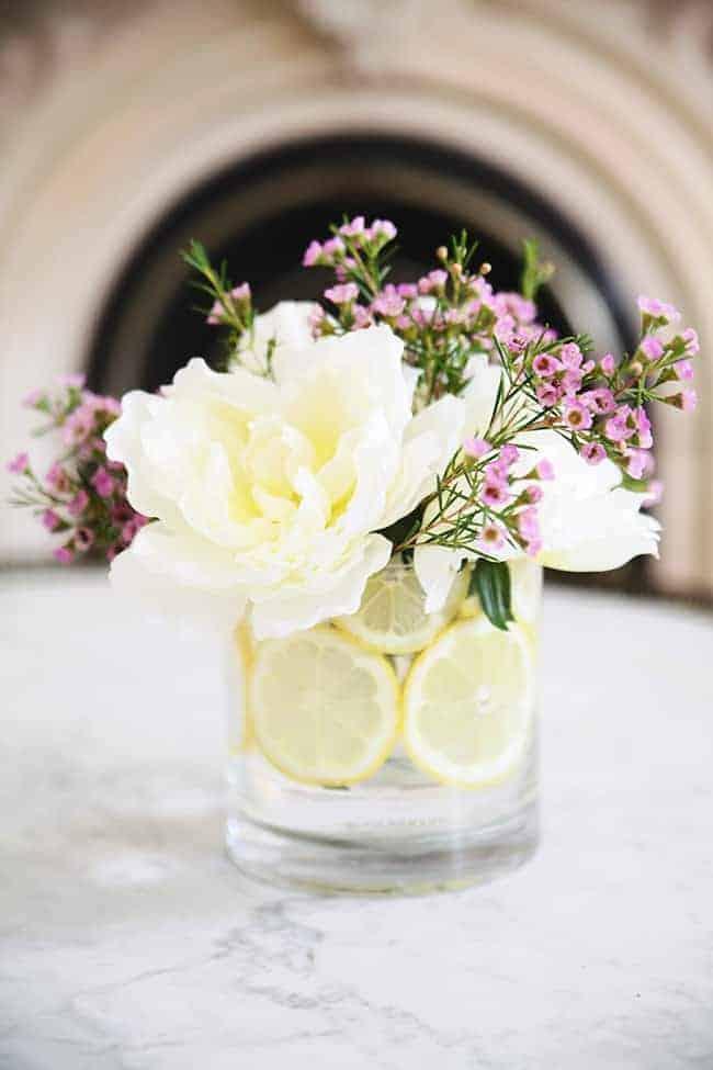 How To Make A Citrus Flower Arrangement Hello Glow