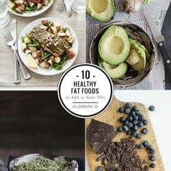 10 Healthy Fats to Add to Your Diet