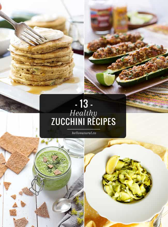 13 Healthy Zucchini Recipes