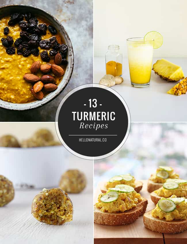 13 Tasty Turmeric Recipes