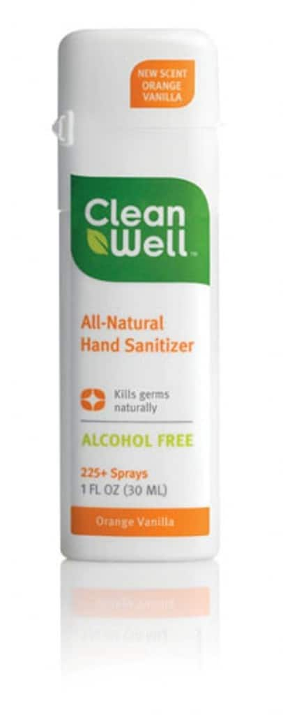 Clean Well All-Natural Hand Sanitizer