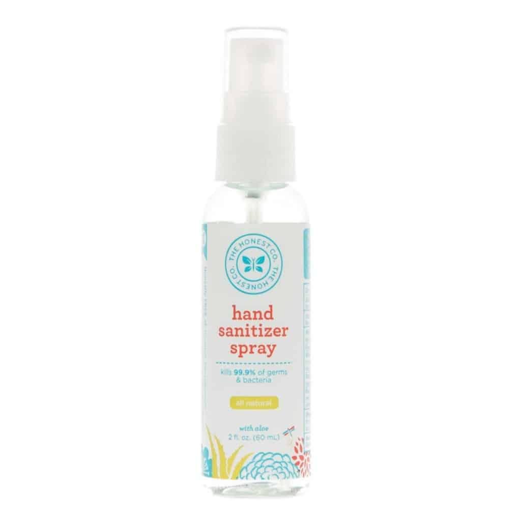 The Honest Company Hand Sanitizer Spray