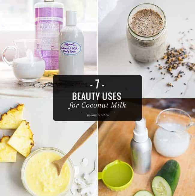 7 Beauty Uses for Coconut Milk