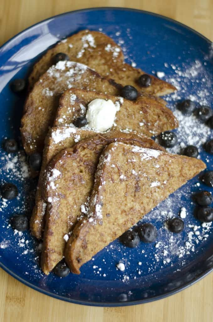 Eggless French toast by Live Eat Learn