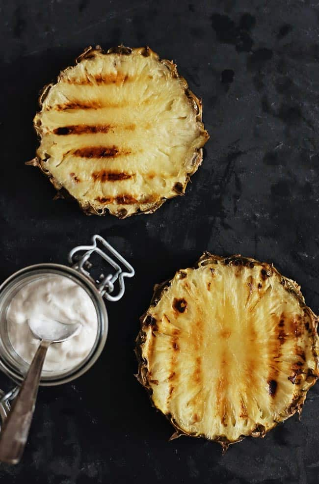 How to: Grilling Pineapple with Coconut