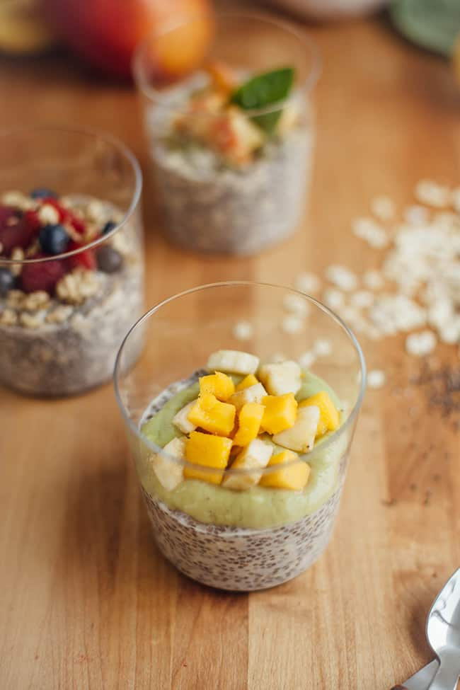 overnight oats with chia seeds 3 ways for summer hello glow. Black Bedroom Furniture Sets. Home Design Ideas