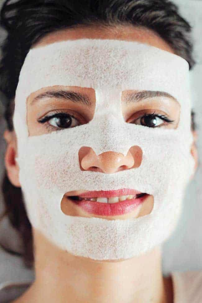How to do a sheet mask