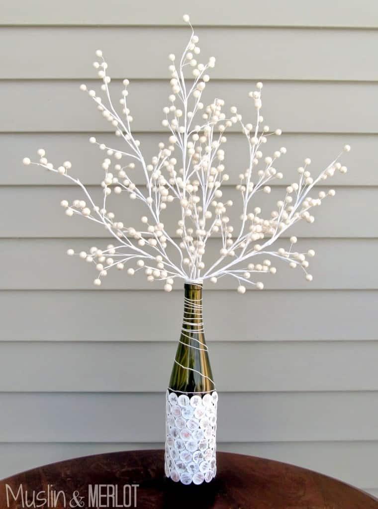 DIY penny vase by Mulsin & Merlot