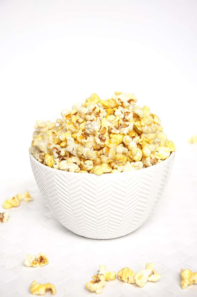 Vegan Cheese Popcorn by Vegan Family Recipes