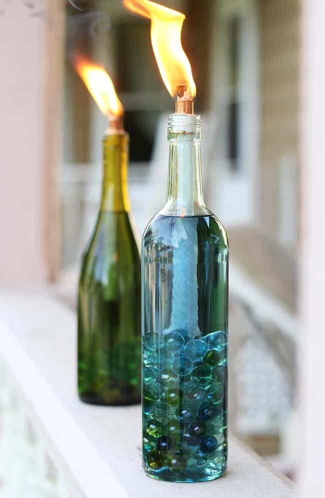 12 Clever Ways To Reuse Wine Bottles Hello Glow