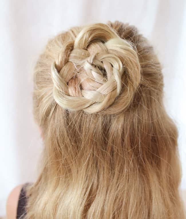 Braid Rose   3 Pretty, Easy Back to School Hairstyles