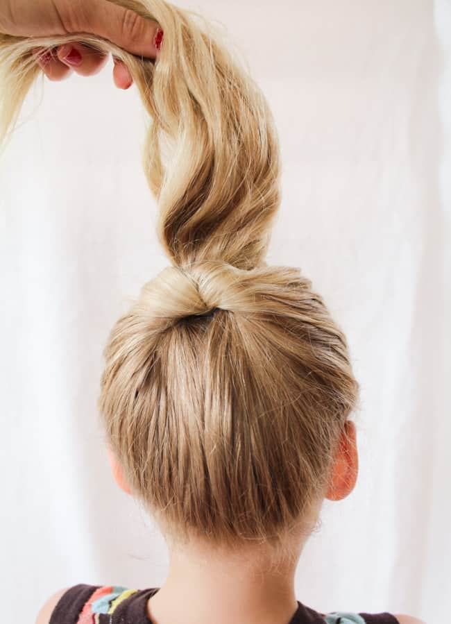 Princess Bun | 3 Pretty, Easy Back to School Hairstyles