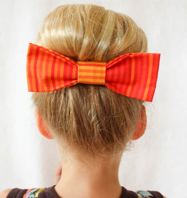 Princess Bun   3 Pretty, Easy Back to School Hairstyles