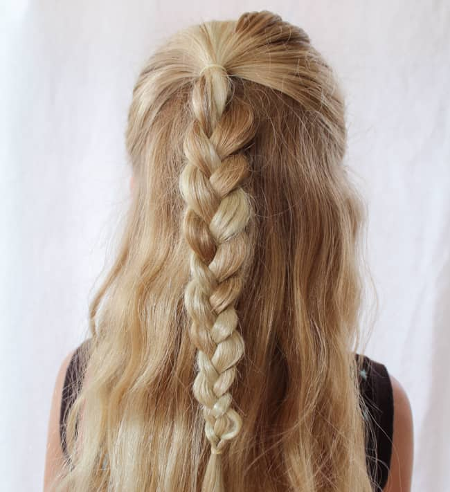 Braid Rose | 3 Pretty, Easy Back to School Hairstyles
