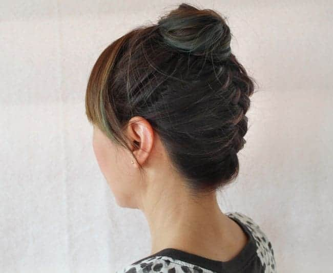 Braided Top Knot | 10 Workout Hairstyles