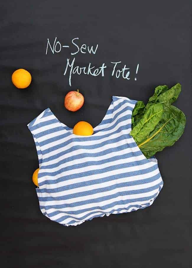 Reusable Market Bag | 11 DIY Bags for All Your Needs