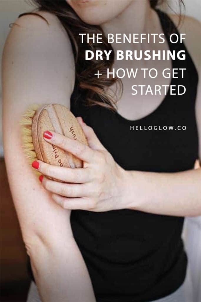 The Benefits of Dry Brushing & How to Get Started