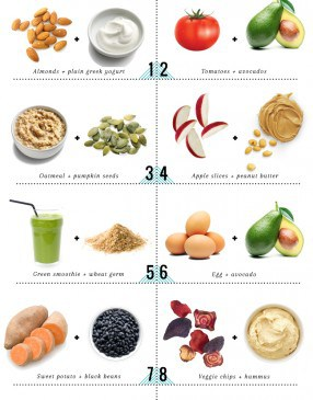 10 Healthy Snack Food Combos