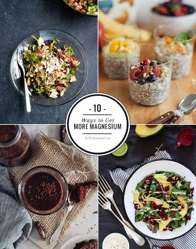 10 Ways to Get More Magnesium