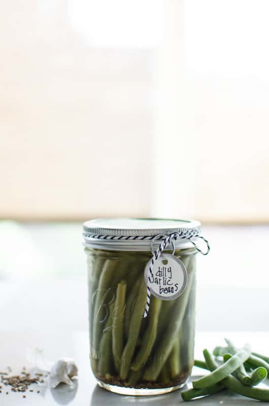 Pickled beans by Personally Andrea