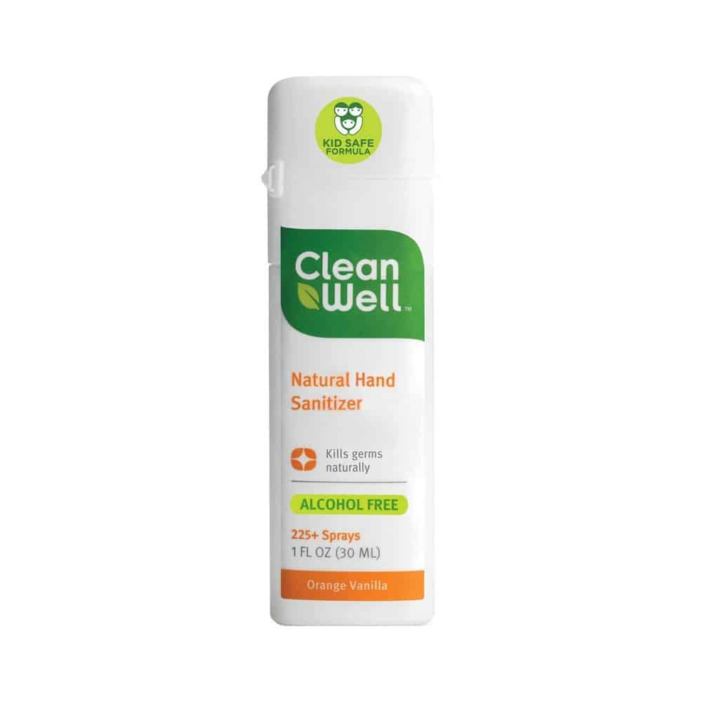 Clean Well All-Natural Hand Sanitizer - 10 Best Clean Hand Sanitizers