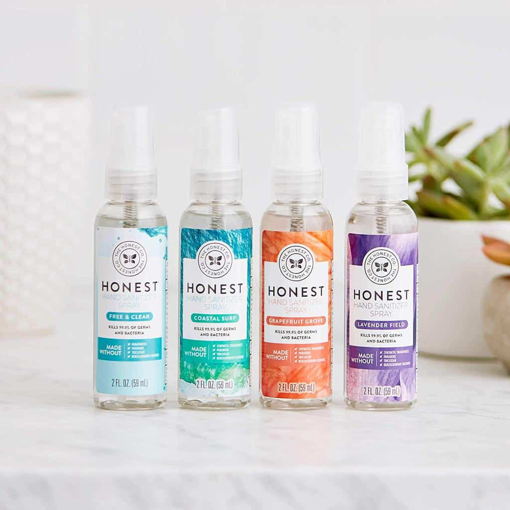 The Honest Company Hand Sanitizer Spray - 10 Best Clean Hand Sanitizers