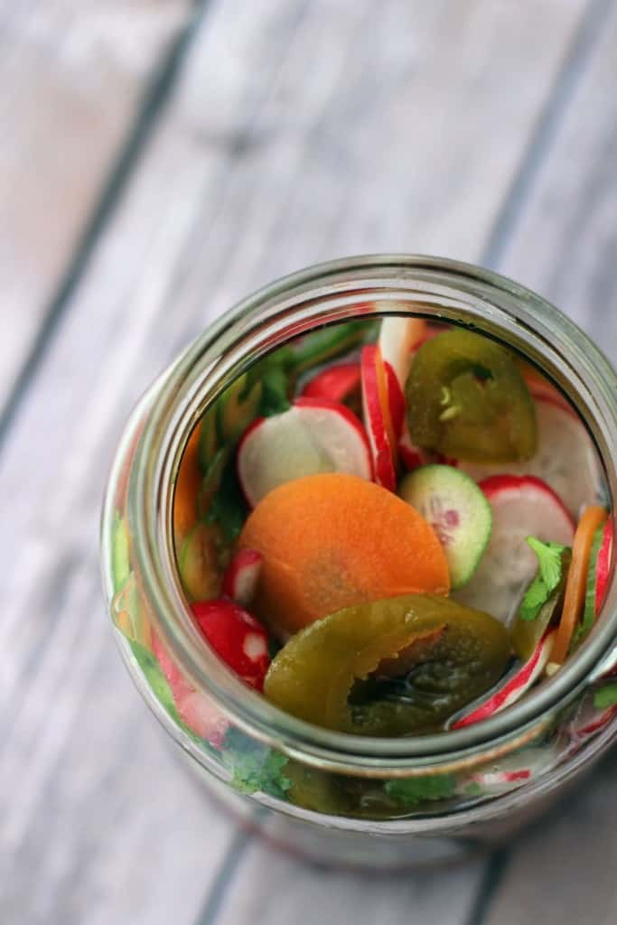 Hot Mexican pickles by Supper in the Suburbs