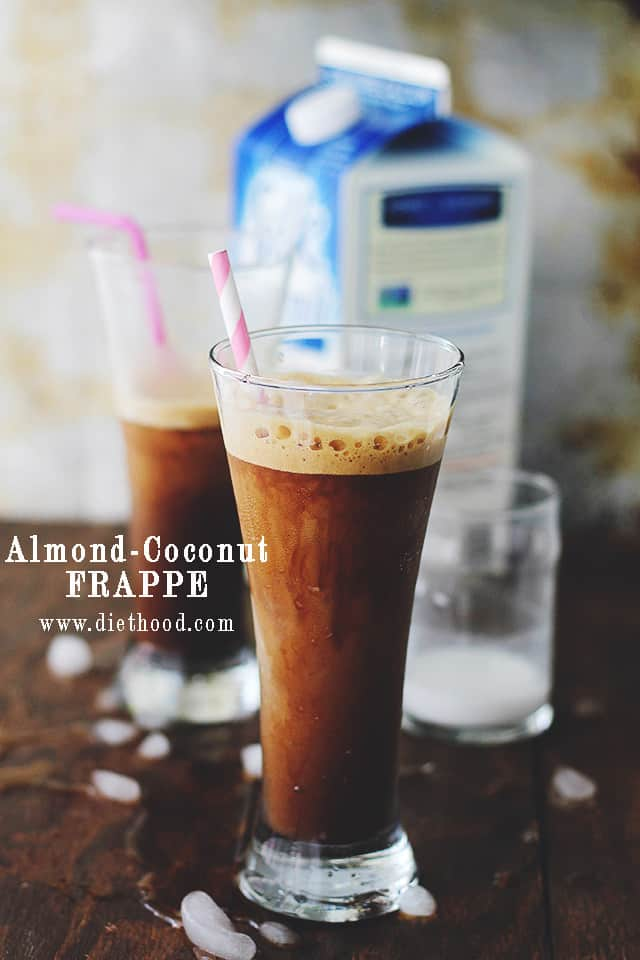 Almond Coconut Frappe by Diethood