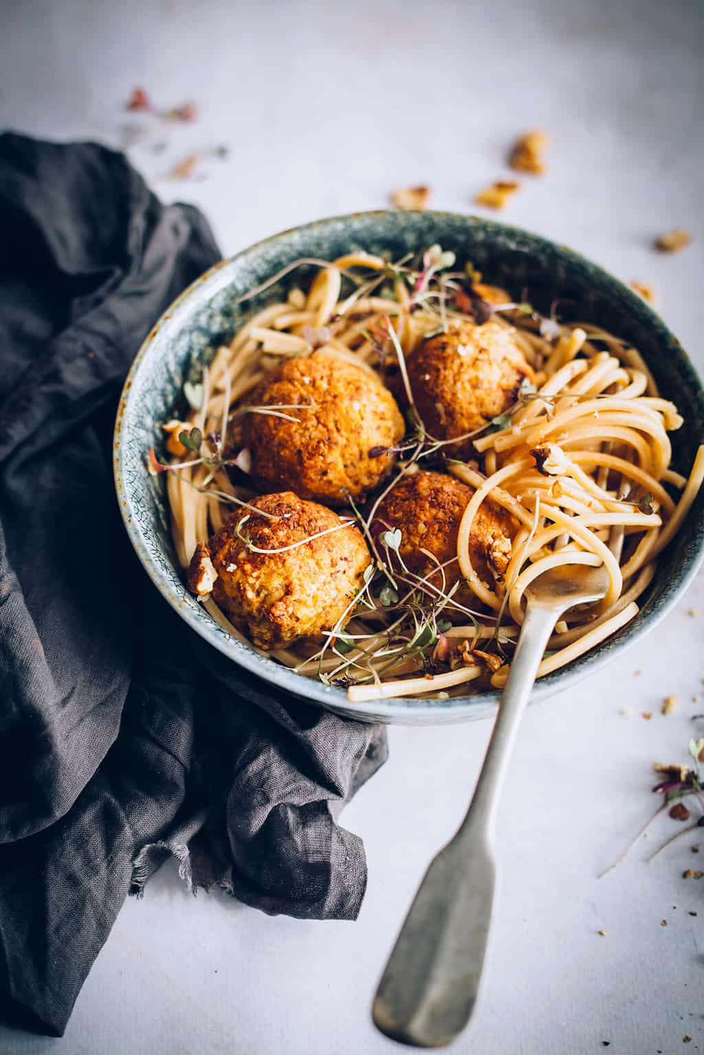 45 Perfectly Packable Lunch Recipes - Carrot Walnut Meatballs