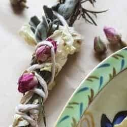 How To: Make Your Own Rosemary Sage Smudge Sticks