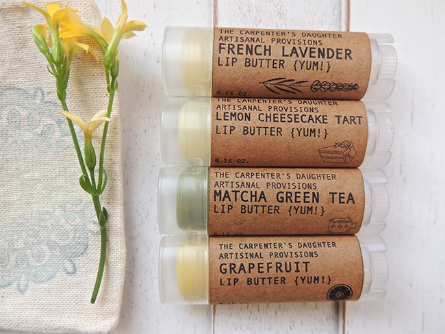 The Carpenter's Daughter Hand-Made Beauty Products Giveaway