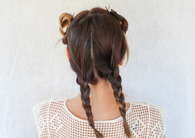 Romantic Braided Updo Tutorial