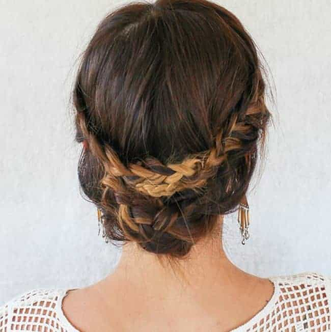 Romantic Braided Undo Tutorial