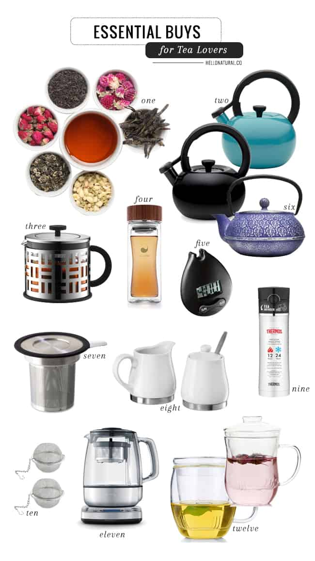 10 Essential Buys for Tea Lovers