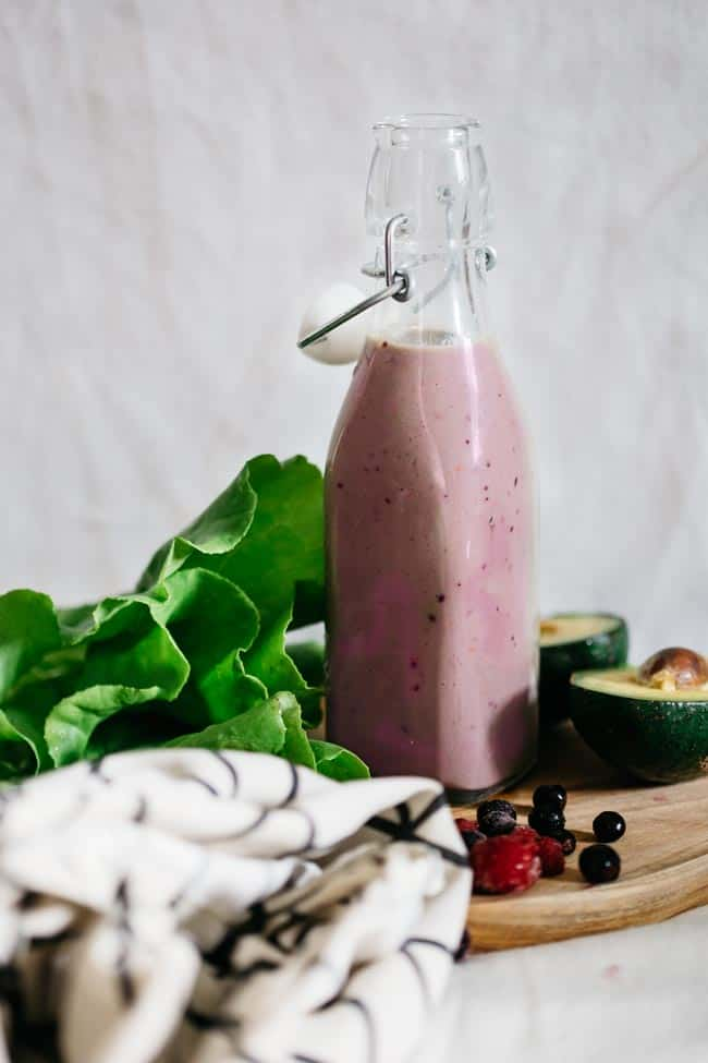 Berry Beauty Smoothie | 4 Resep Smoothie Usus Sehat